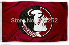 NCAA Florida State University Seminoles Flag 3x5 FT 150X90CM Banner 100D Polyester flag 107, free shipping(China)