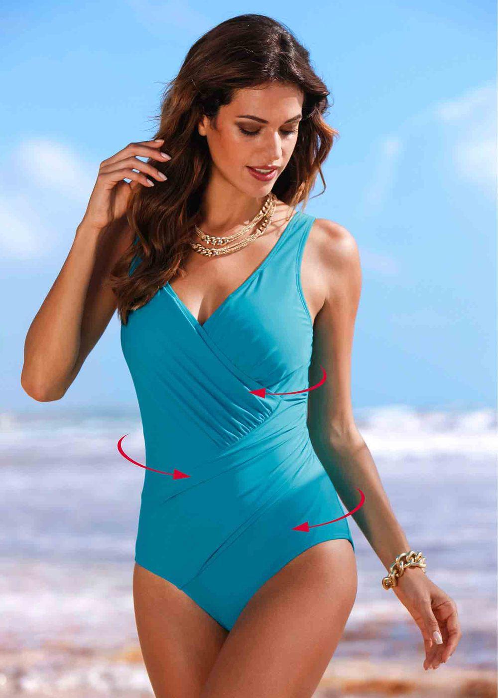 Moonbiffy Bikini 2018 One Piece Swimsuit Women Plus Size Swimwear Body Suit Push Bathing Suit Swimming Costume