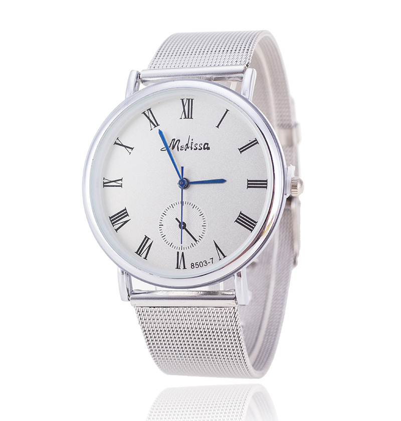 2016 New Famous Brand Silver Casual Quartz Watch Women Metal Mesh Stainless Steel Dress Watches Relogio Feminino Geneva Clock<br><br>Aliexpress