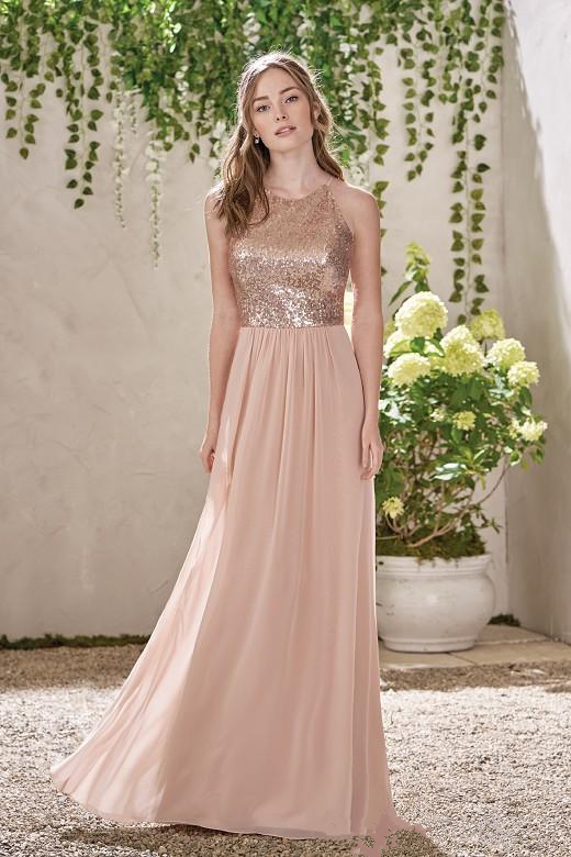 2017-new-rose-gold-bridesmaid-dresses-a-line-spaghetti-backless-sequins-chiffon-cheap-long-beach-wedding-gust-dress-maid-of-honor-gowns (1)