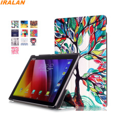 Fashion Smart Case For Asus Zenpad 10 Z300C Z300CL Z300CG Z300M Pattern Printing Tri-fold PU Leather Stand Cover+Stylus Pen