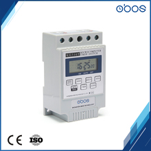 220V Guide install timing control range 1min-168H programmable time switch weekly 7days programmable digital timer switch