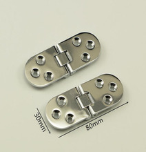 Table Flap Hinge hidden furniture fold Zinc Alloy Hinges X2(China)