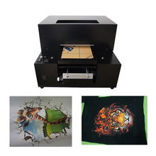 Garment (light color and dark color ) T shrt A4 size Flatbed Printer