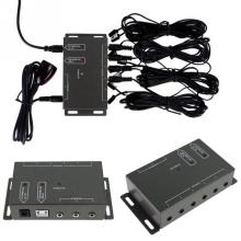 High Quality IR Remote Extender 4 Emitters 1 Receiver Infrared Repeater System Kit