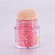 Women Girls Pure Mineral Face Cheek Rouge Color Blusher Powder Cosmetic  3D