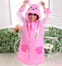 Student Raincoat Baby Children Cartoon Kids Girls boys rainproof Rain Coat Waterproof Poncho Rainwear Waterproof Rainsuit YY281