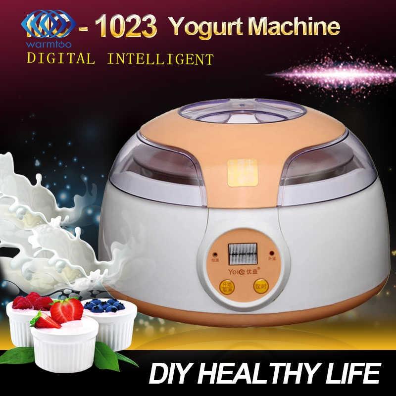 Household Appliance MC - 1023 multi-function yogurt machine advanced digital intelligent natto  Stainless Steel Liner<br>