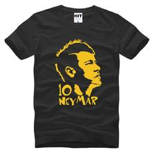 2016 New Summer Football Star Neymar T Shirts Men Polyester 2017bike Sleeve Tops Mens Football Soccer Man T-shirts bike shirt Ma