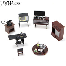 Beautiful Miniatures Furniture Ornaments Crafts Doll House Figurines Photography Props Suite for Kids Birthday Christmas Gifts
