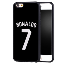Cristiano Ronaldo CR7 football Jersey phone Case cover for iPhone 7 7plus 6 6s 6plus