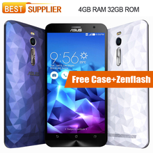"Original Asus ZenFone 2 Deluxe ZE551ML FDD LTE Smartphone 5.5"" Intel Z3560 Android 4GB RAM 32GB ROM Quad Core nfc 1.8GHz(China)"
