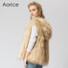 VR049  Knitted Real raccoon fur vest/ jacket /overcoat  women's fashion winter warm genuine fur vests ourwear