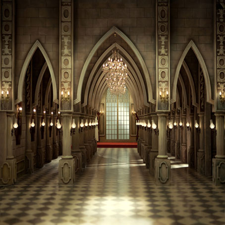 Customize 3 D church cathedral vinyl cloth print photography backdrops for wedding photo studio backgrounds L-165<br>
