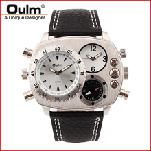 trend design quartz watch oulm factory direct sell original brand PC21S movt men watches for sell(China)