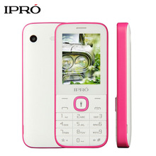 Original IPRO I324F Push-Button Telephone 2.4 inch Unlock Mobile Phone for Elders GSM Dual SIM Cards Cellphone Russian Language(China)