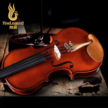 Free Shipping FineLegend 4/4 Zizyphus Jujuba Parts Handmade Professional Violin Solid Spruce Maple with Bow Case LCV1113-1
