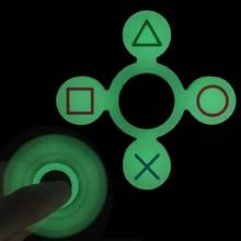 Buy New Hand Fidget Spinner Light Soft Silicone Finger Spinner Toys Glow Dark Geometric Shapes Autism ADHD Anti Stress Toys for $1.98 in AliExpress store