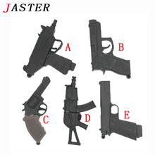 JASTER cool ak47gun model usb flash drive usb 2.0 pistol pendrive 8gb 16gb 32gb 64gb memory Stick Pendrives thumb drive gifts