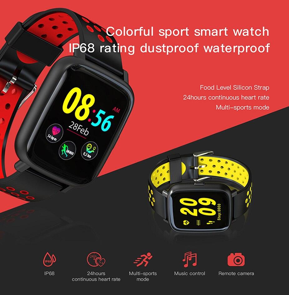 COLMI Smart Watch Heart Rate Monitor IP68 Waterproof Swimming Bracelet Bluetooth Sport Clock for Men Women Smartwatch 01