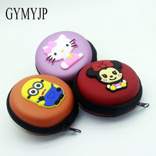 Despicable Me Minions headset Cartoon In-ear Wired 3.5 mm Hello Kitty earphone Headphone variety of cartoon design