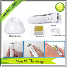 Portable Best Mini RF Radio Frequency Collagen Stimulation Regrowth Anti Aging Wrinkle Skin Tightening Thermage Beauty Device(China)