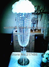 new and hot tall crystal table top chandelier centerpieces for weddings decoration