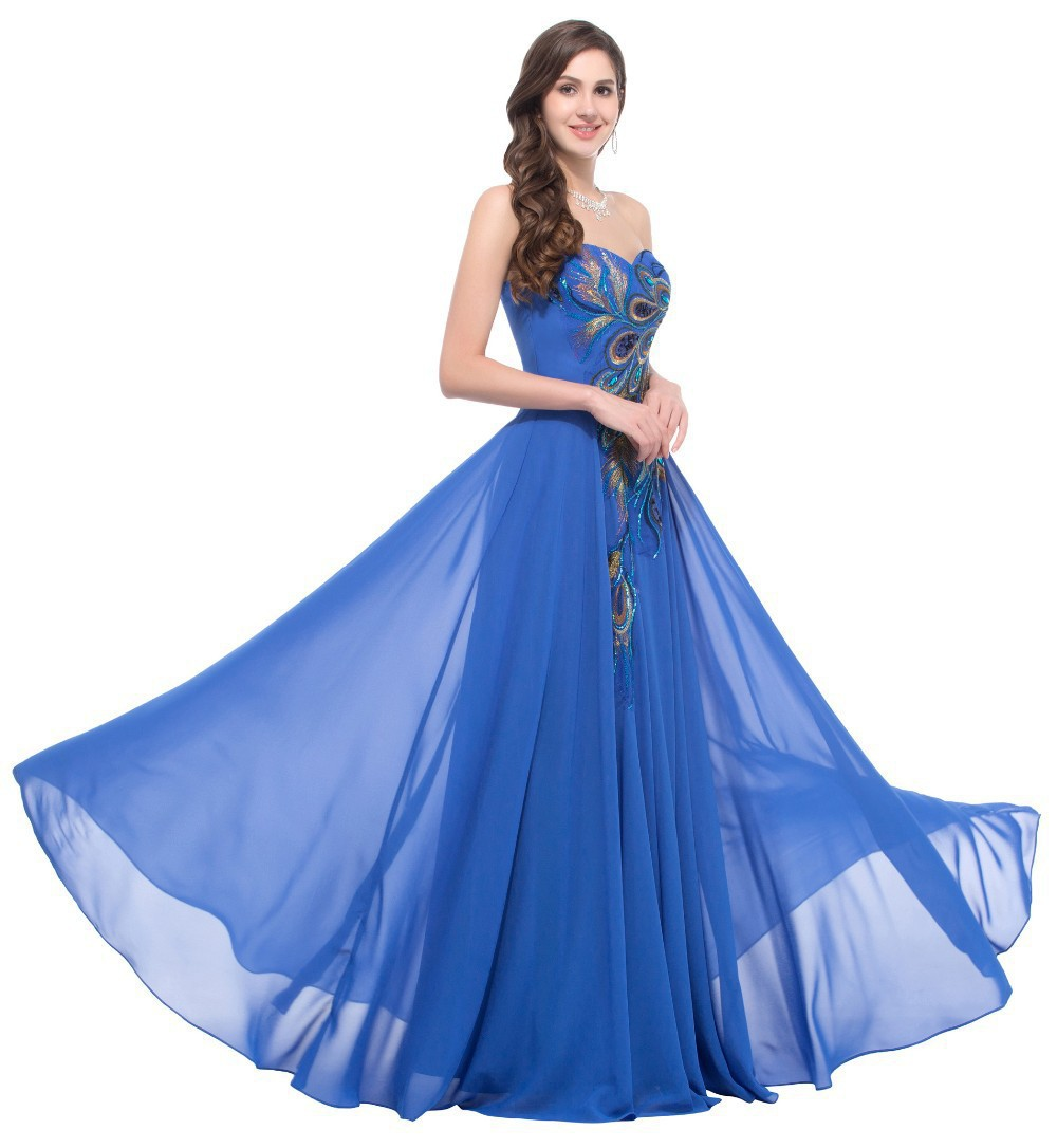 2019 Latest Strapless Evening Gowns For Women Formal A Line Dress For Wedding Party Plus Size Prom Dresses LF005