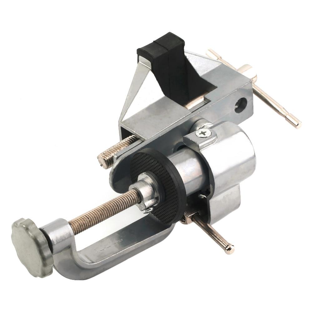 Portable Aluminum Alloy Table Vise Metal Clamp Lock  Clip DIY Parts<br><br>Aliexpress