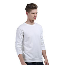 Mens Womens Classic Sweatshirt Cotton Polyester Jumper Plain Autumn Clothing Long Sleeve Black Gray Red(China)