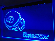 LD480- Tennessee Titans Helmet coors LED Neon Light Sign   home decor  crafts