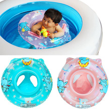New Arrival Baby Inflatable Swimming Neck Float Inflatable Tube Ring Safety Swim Ring Child Toys for 0-2 Years Babies  B