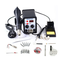YOUYUE 8586 700W 20 in 1 Solder Rework Station Hot Air Heat Gun Soldering Iron For Welding Repair With Soldering Tool Free Gifts