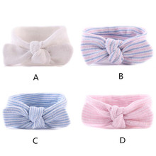 4pcs/lot Newborn Baby Headband Cotton Infant Hair Wreath Baby Girls Bandage On Head Accessories Children Hot Items Free Shipping(China)