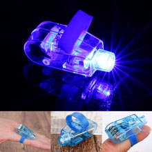 25pcs LED Glowing Finger Rings Flashing Lights Color Laser Emitting Lamps Wedding Celebration Birthday Party Decoration Kids Toy(China)