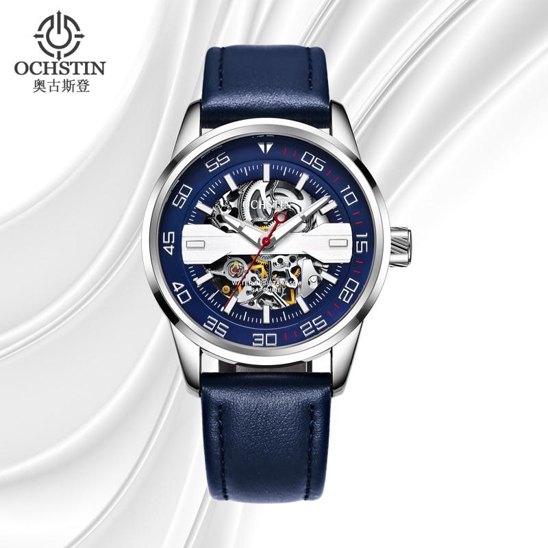 OCHSTIN New Skeleton Automatic Watch Men Waterproof Luxury Luminous Mechanical Wrist Watch for Men Clock Hodinky Erkek Kol Saati<br>