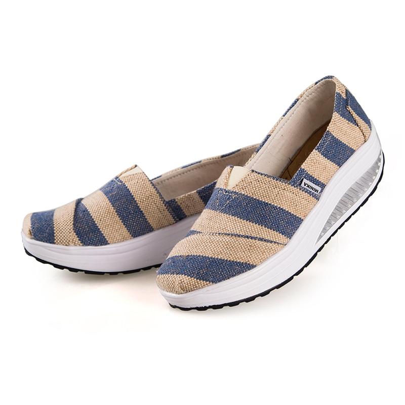 NEW 2017 Summer Women  Platform Loss Weight Womens Shoes Swing Female Platform Shoes zapatillas deportivas mujer<br><br>Aliexpress
