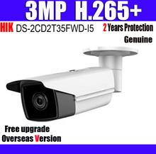 DS-2CD2T35FWD-I5 3MP H.265+ IP67 CCTV IP Camera with SD Card Slot Ultra-Low Light Bullet Network Camera with Logo(China)