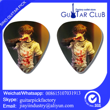 Free shipping Hot sale good price Blood anime guitar picks bands accessories guitar plectrum