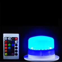 Candle Decorative Lights LED Furniture Lighting LED Bulb RGB Remote Control Waterproof IP68 Swimming Pool Lights