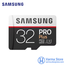 Buy Samsung TF Card MB-MD PRO Plus microSD flash memory card UHS-I 32GB U3 Class10 microSDHC high-speed memory card for $35.26 in AliExpress store