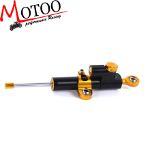 Motoo -  free shipping Steering Damper Motorcycle CNC Stabilizer Linear Reversed Safety Control For yamaha
