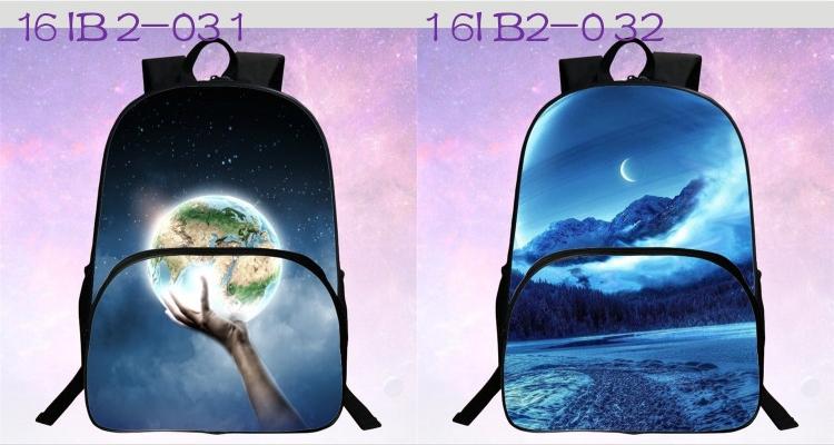 حقائب مدرسية / الكون / الفضاء/ 24 لوان للبنات 3