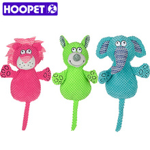 HOOPET New Dog Toys Pet Puppy Plush Sound Elephant Animal Design Pet Toy Supplies(China)