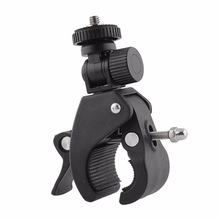High Quality 1/4 Camera DV DSLR Bike Bicycle Handlebar Clamp Bracket Tripod Mount Screw Clip For Camera DV for Gopro