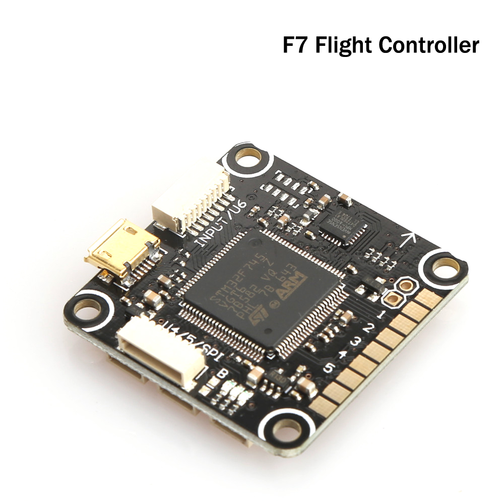 F7 Flight Controller 30.5X30.5mm STM32F745 100lqfp 216MHz MPU6000 SPI Support Betaflight For F4 QAV-R 220mm RC Multicopter<br>