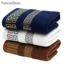 35*75cm 1 Piece Decorative Cotton Terry Hand Towels,Elegant Embroidered Bathroom Hand Towels,Face Hand Towels,Toallas Algodon(China)