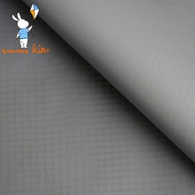 Grey 1.7Yard Wide x 1Yard Long Outdoor Waterproof Fabric UV Protection Ripstop Nylon Fabric For Kites Tents Making Decoration