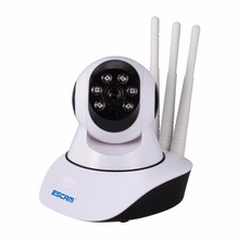 Escam QF503 Wifi Camera YOOSEE 960P Three Antenna Wireless Security Surveillance IP Camera Night Vision Support 433MHz Alarm(China)