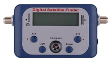 Digital Satellite Signal Meter Finder Meter For Dish Network Directv FTA LCD Graphic Display Backlight Compass Buzzer Control